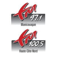 Logo of radio station FM 97.1 et 100.5