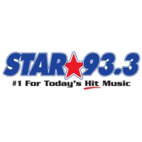 Logo of radio station CKSG Star 93.3