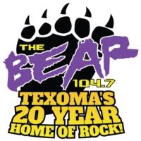 Logo of radio station KYYI 104.7 THE BEAR