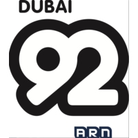 Logo of radio station Dubai 92