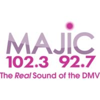 Logo of radio station WDCJ Majic 102.3 92.7