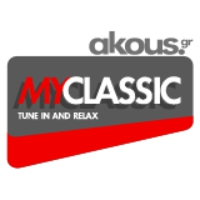 Logo of radio station Akous. MyClassic