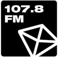 Logo de la radio Black Diamond 107.8 FM