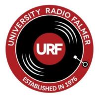 Logo of radio station URF