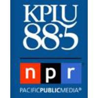 Logo of radio station KPLU News NPR