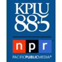 Logo of radio station KPLU News NPR