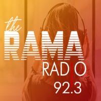 Logo of radio station the RAMA RADIO