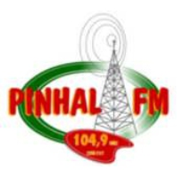 Logo of radio station Rádio Pinhal 104.9 FM