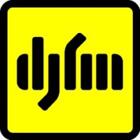 Logo of radio station DJFM Киев 96.8