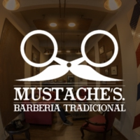 Logo of radio station Mustache´s