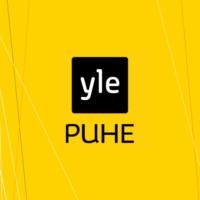 Logo of radio station Yle Puhe