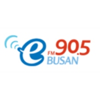 Logo of radio station Busan e-FM 90.5