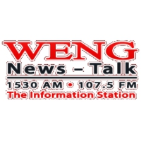 Logo of radio station WENG 1530 AM