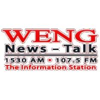 Logo of radio station WENG 1530 AM