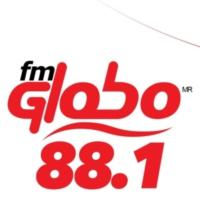 Logo of radio station XHJM-FM Globo 88.1