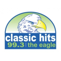 Logo de la radio KWIC 99.3 The Eagle