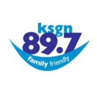 Logo of radio station KSGN Good News Radio