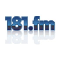 Logo de la radio 181.fm - Comedy club