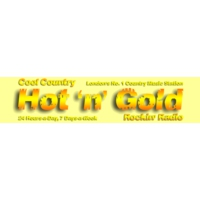 Logo of radio station Hot N Gold