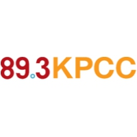 Logo of radio station KPCC 89.3 FM