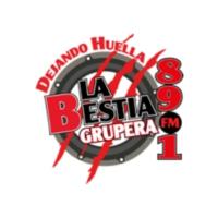Logo of radio station XHPF La Bestia Grupera 89.1 FM