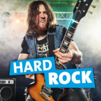 Logo of radio station RPR1. Hard Rock