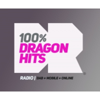 Logo de la radio 100% Dragon Hits Radio