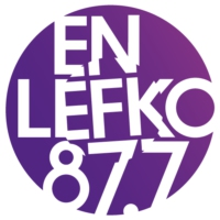 Logo of radio station En Lefko 87.7 FM