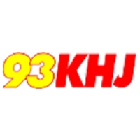 Logo of radio station 93KHJ