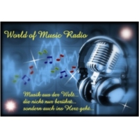 Logo de la radio World of Music Radio