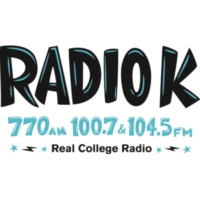 Logo of radio station KUOM Radio K