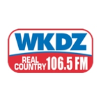 Logo de la radio WKDZ Real Country
