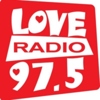 Logo of radio station Love Radio 97.5 FM