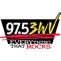 Logo of radio station WWWV 3WV 97.5