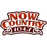 Logo of radio station CIUR-FM Now Country 104.7 FM