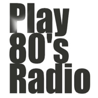 Logo of radio station Play 80's radio