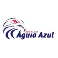 Logo of radio station Rádio Águia Azul
