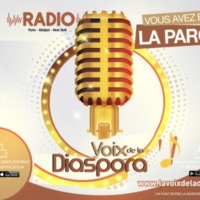 Logo of radio station La Voix de la Diaspora Radio
