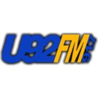 Logo of radio station WWVU U92