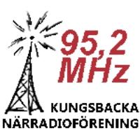 Logo of radio station Kungsbacka Närradioförening 95,2 MHz
