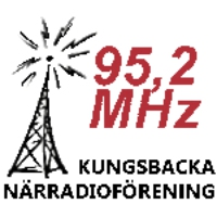 Logo de la radio Kungsbacka Närradioförening 95,2 MHz