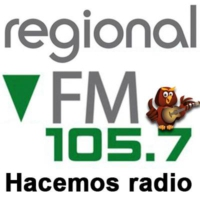 Logo of radio station Radio Regional 105.7 Atilra