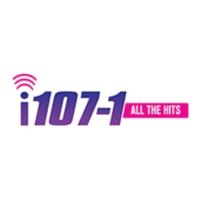 Logo of radio station KRQN i107-1