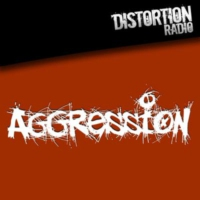 Logo of radio station Distortion Radio Aggression