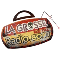 Logo of radio station La Grosse Radio Metal