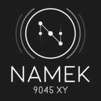 Logo of radio station Namek 9045 XY