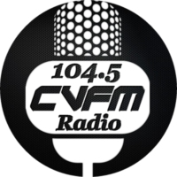 Logo of radio station CVFM Radio 104.5fm