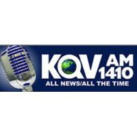 Logo of radio station KQV