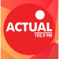 Logo of radio station Radio Actual FM 102.9