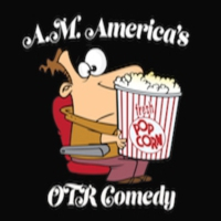 Logo of radio station A.M. America OTR Comedy Channel